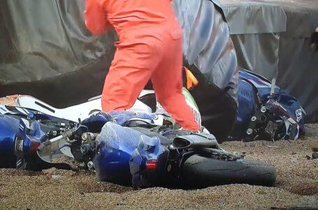 BSB Supersport Big Crash