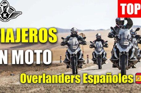 TOP 5: Motociclistas Españoles Por El Mundo